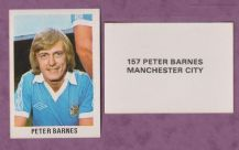 Manchester City Peter Barnes England 157